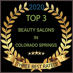top-three rated salon